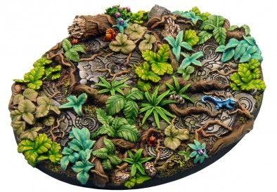 Micro Art Studio - Jungle Elipse Base, Beautiful Base!
