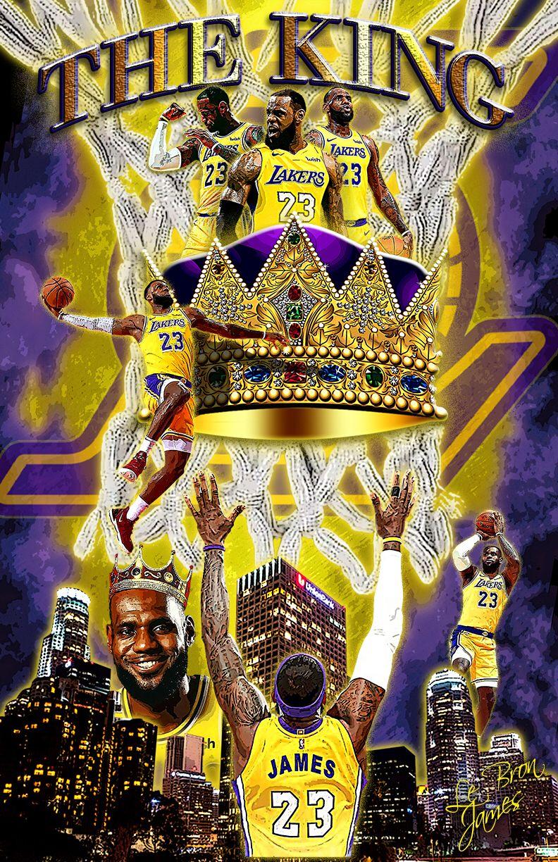 The King Lebron James King Lebron James Lebron James Wallpapers Lebron James Lakers