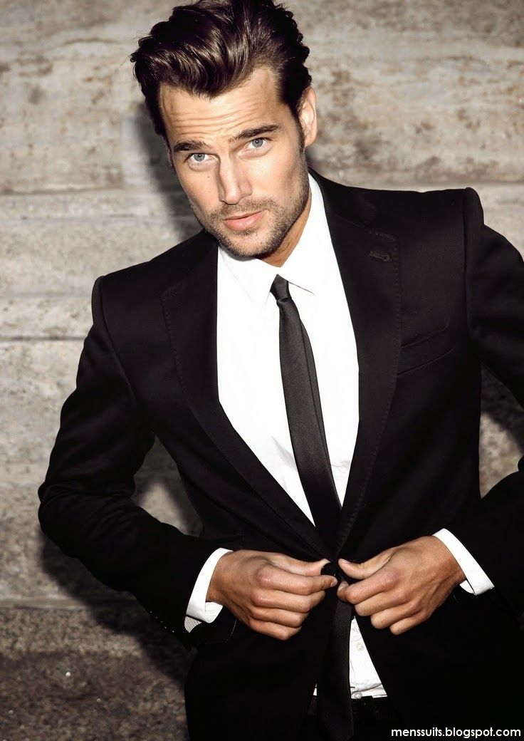 All Black Wedding Suit - Ocodea.com