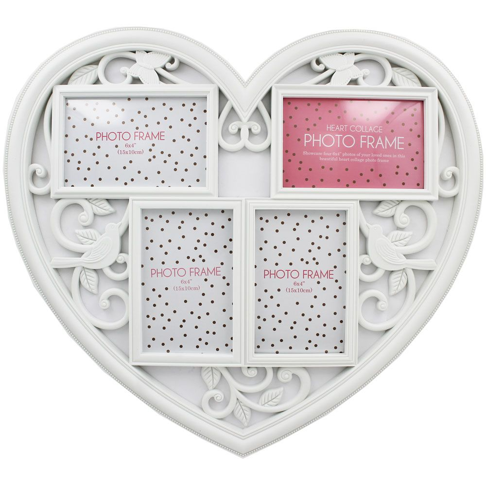 Heart Collage Photo Frame   Gifts - New In! at The Works   TLC - For ...