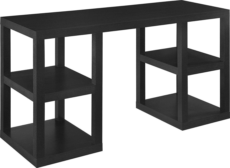 99 Parsons Desk Black Contemporary Home Office Furniture Check