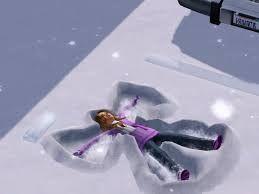Resultado de imagen para angelitos en nieve