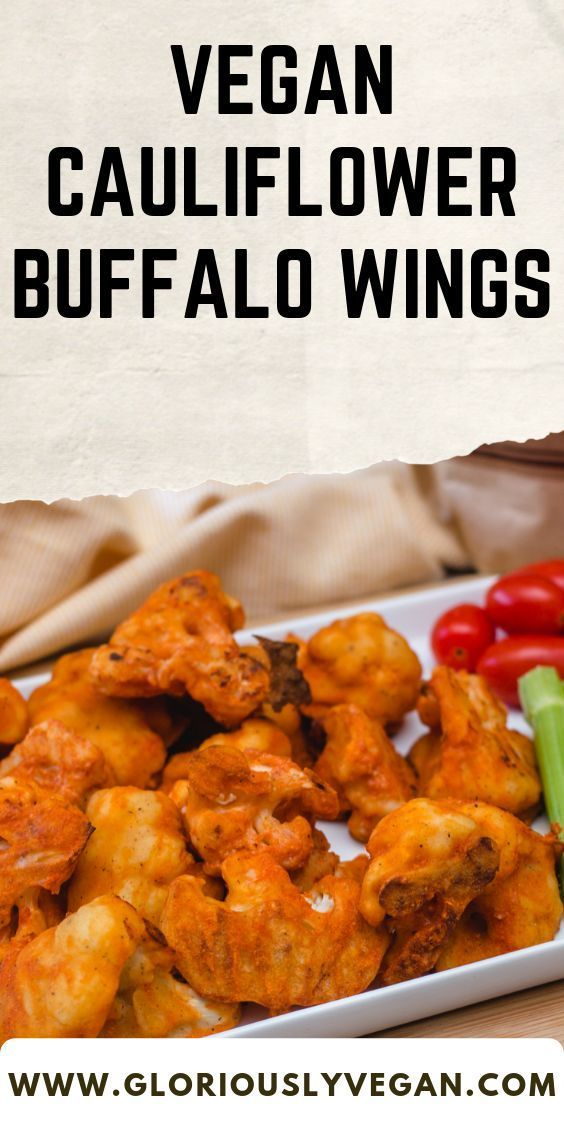 Try this Vegan cauliflower buffalo wings recipe! With these easy cooking steps you will surely love...