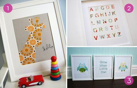 Roundup 10 Easy Diy Nursery Wall Art Ideas Curbly Design Community