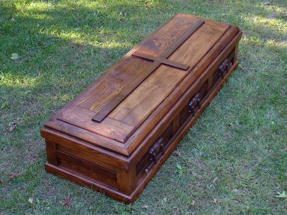 Hand Built Reclaimed Wood Casket | crafts | Wood, Casket, How to
