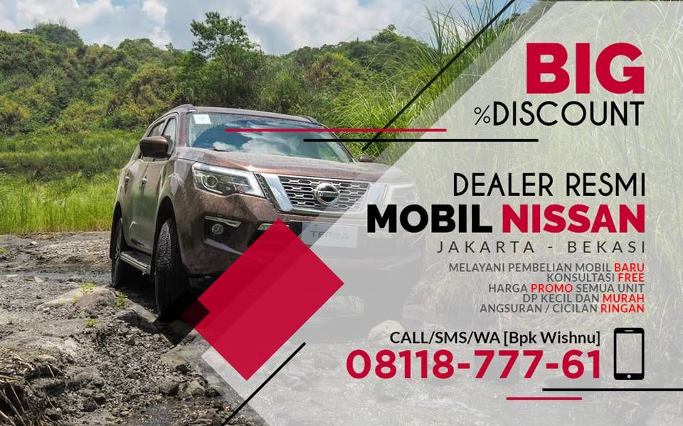 Jual Terra Jakarta Selatan, Harga All New Terra, Nissan