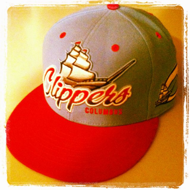 5e941642673 New Columbus Clippers hat! Minor League Baseball