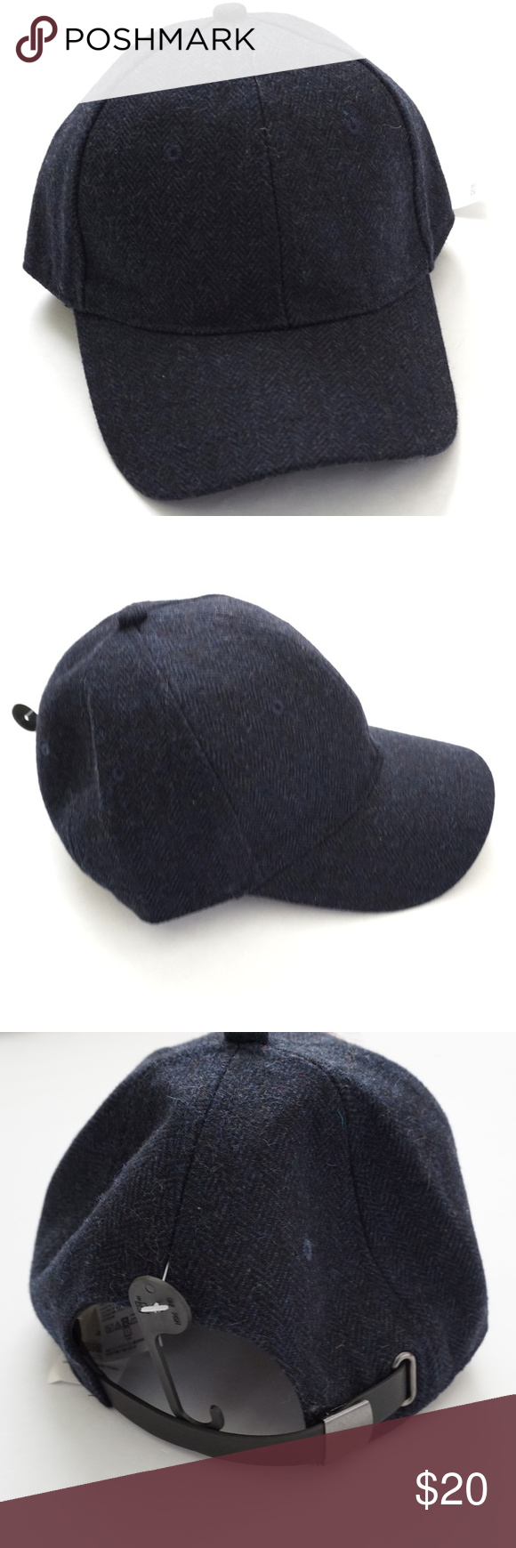 NWT Banana Republic Blue Wool Blend Cap Hat NEW WITH TAGS! Blue wool blend  Adjustable 6a74c8207dd6