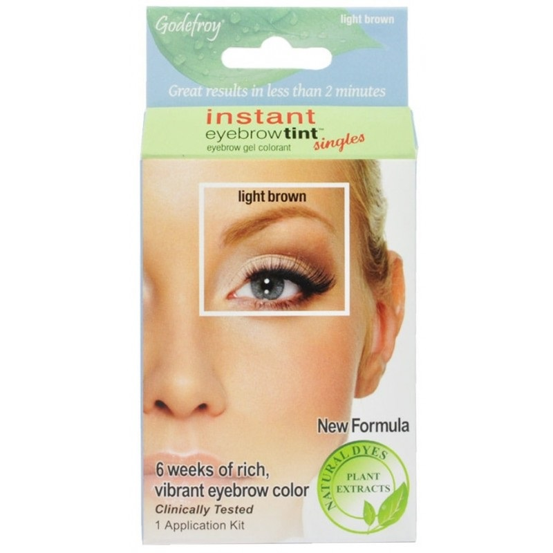 Godefroy Instant Eyebrow Tint Eyebrow Gel Colorant 1 Application