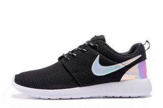 429f532cbf0 Mens Womens Nike Roshe One Run Running Shoes Black White Laser 511881 018