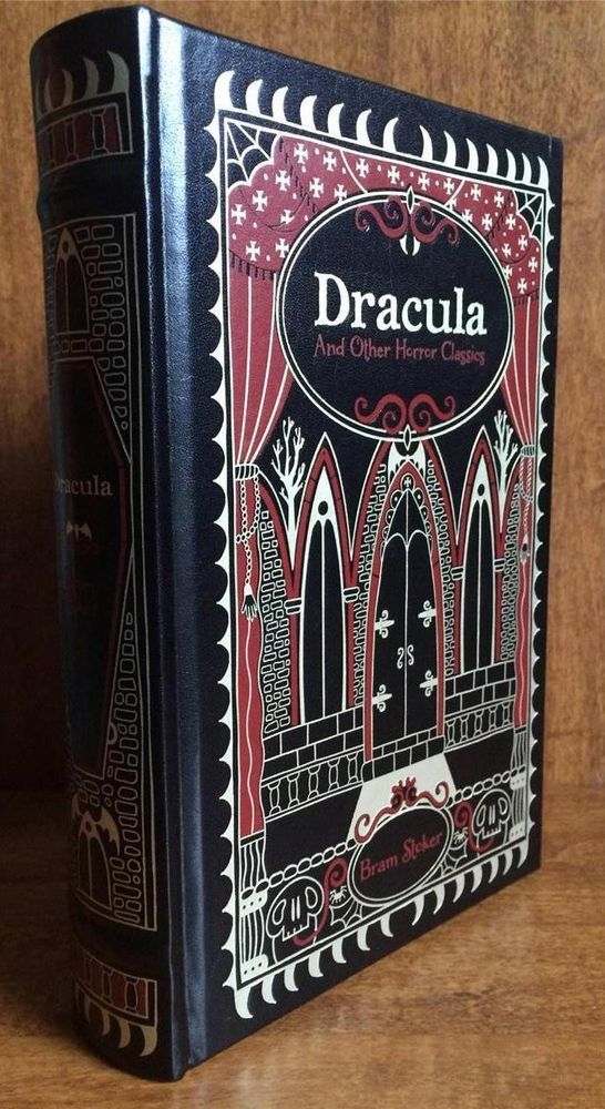 Dracula And Other Horror Classics Leatherbound Brand New Sealed Dracula Horror Vampires And Werewolves