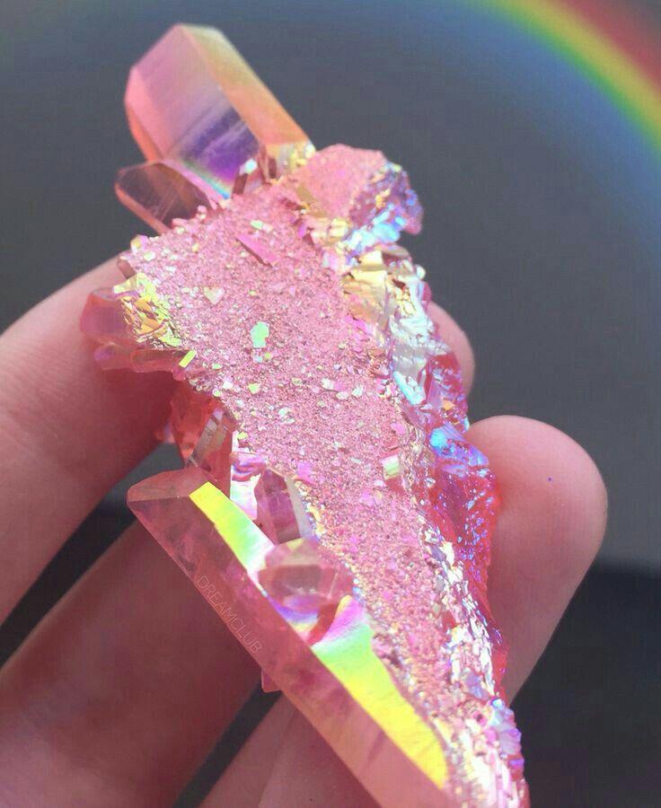 Pin de no Name em Pink Cristal de quartzo, Pedras e