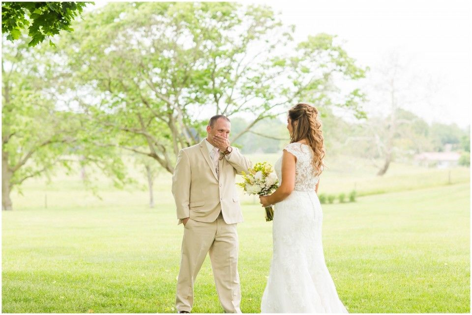 wedding picture locations akron ohio%0A May Brookside Farm  Louisvill Ohio Rustic DIY Wedding Emotional first look