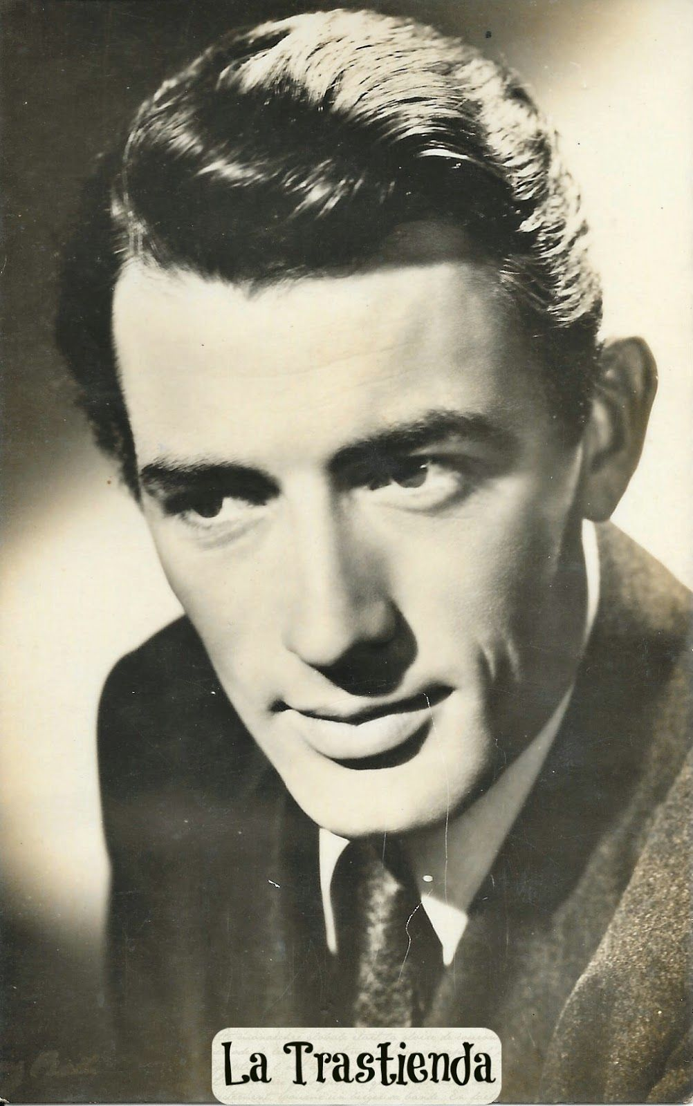Foto-Postal antigua de Gregory Peck