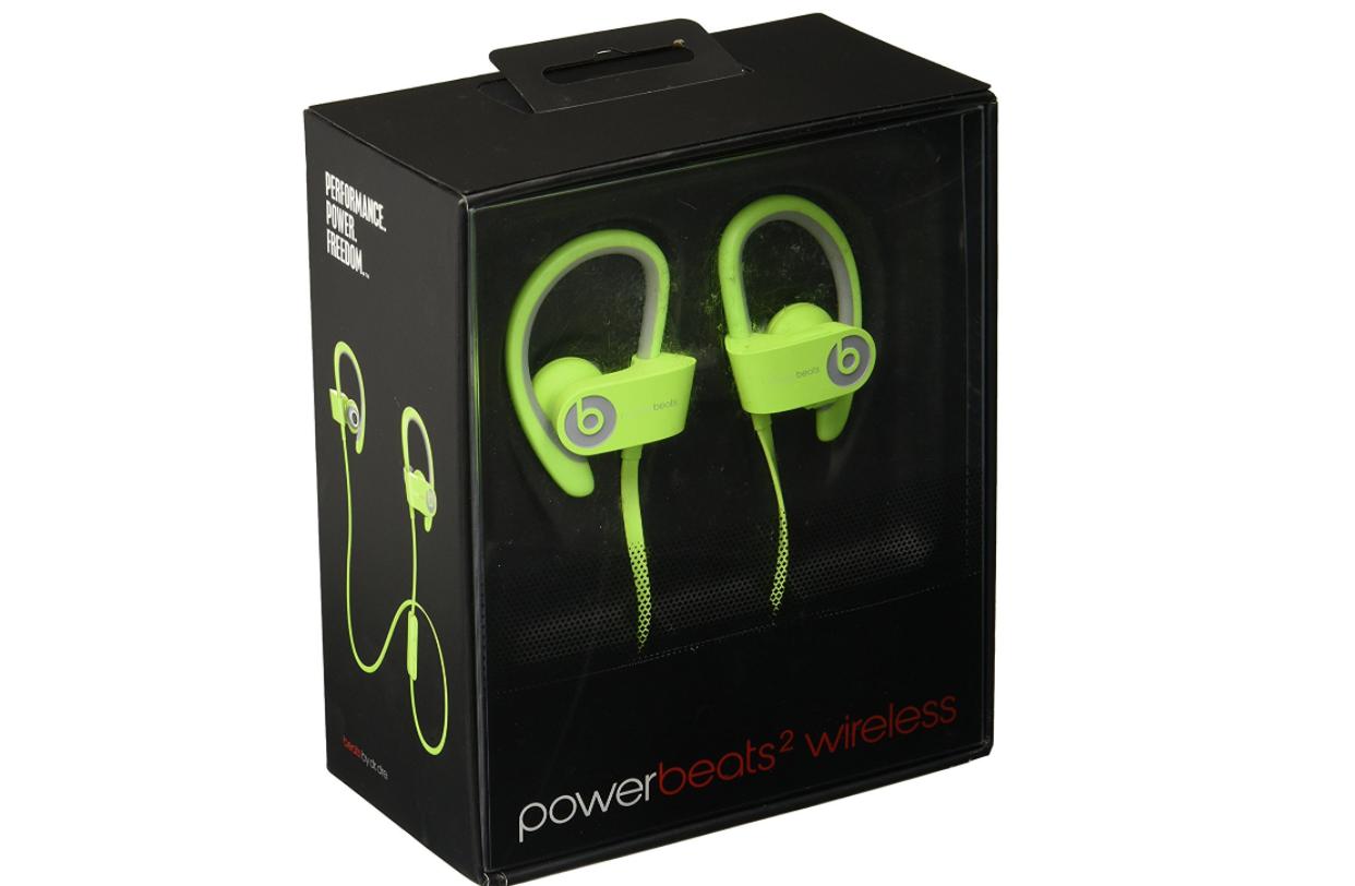Beats By Dr Dre Powerbeats2 Wireless In Ear Headphone White 12497 Bluetooth Beat Drdre Headphones Refurbished