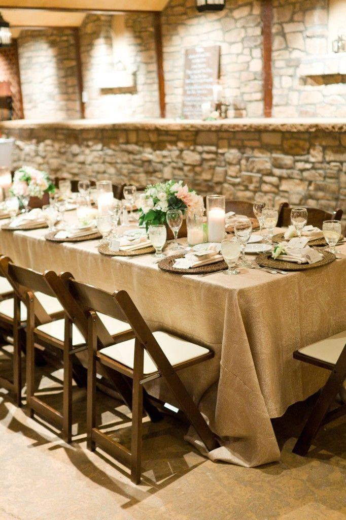 Wine Cellar Rehearsal Dinner Wedding Beige Wedding