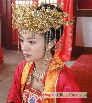 d636ebcdb Ancient Chinese Princess Wedding Phoenix Coronet | Made In China ...