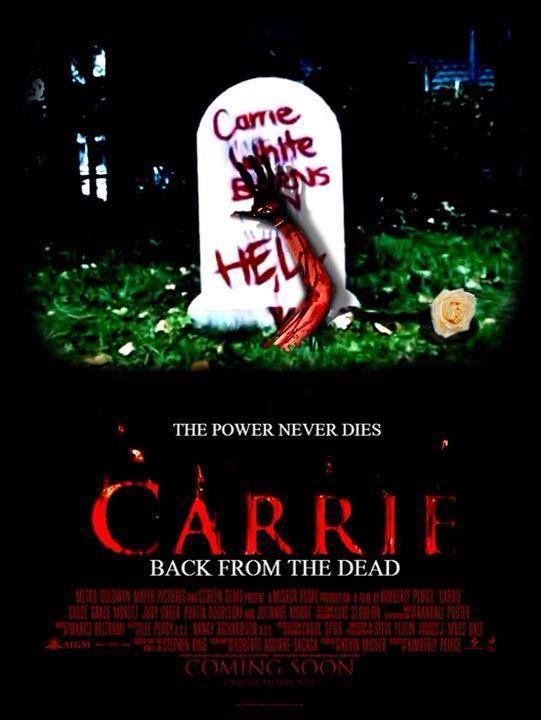 Carrie 2013 Horror Show Classic Horror Movies Carrie Stephen King