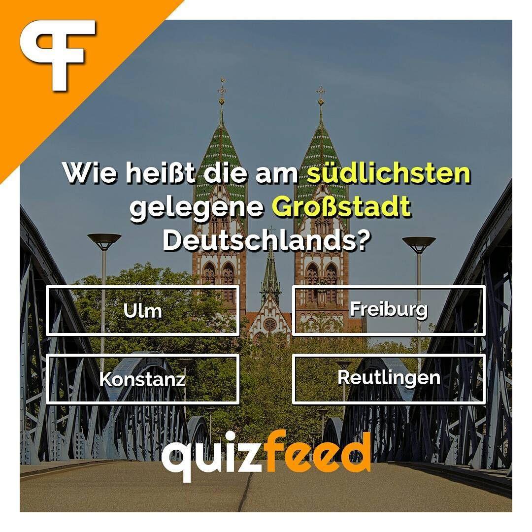 Wie Heißt Die Am Südlichsten Gelegene Großstadt Deutschlands