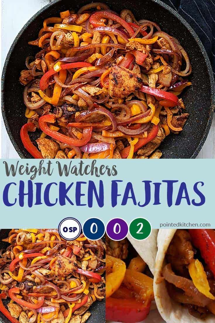 Chicken Fajitas | Weight Watchers