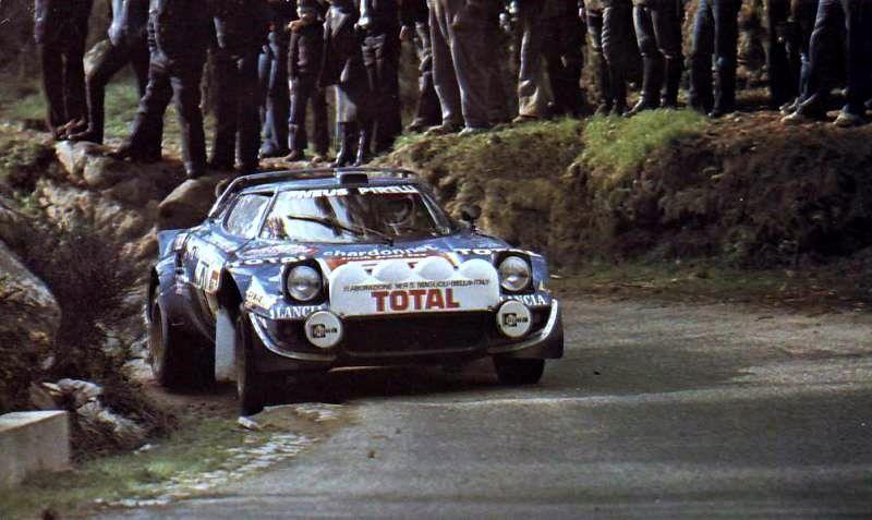 Lancia Stratos B Darniche Rallye, Monte carlo, Voiture