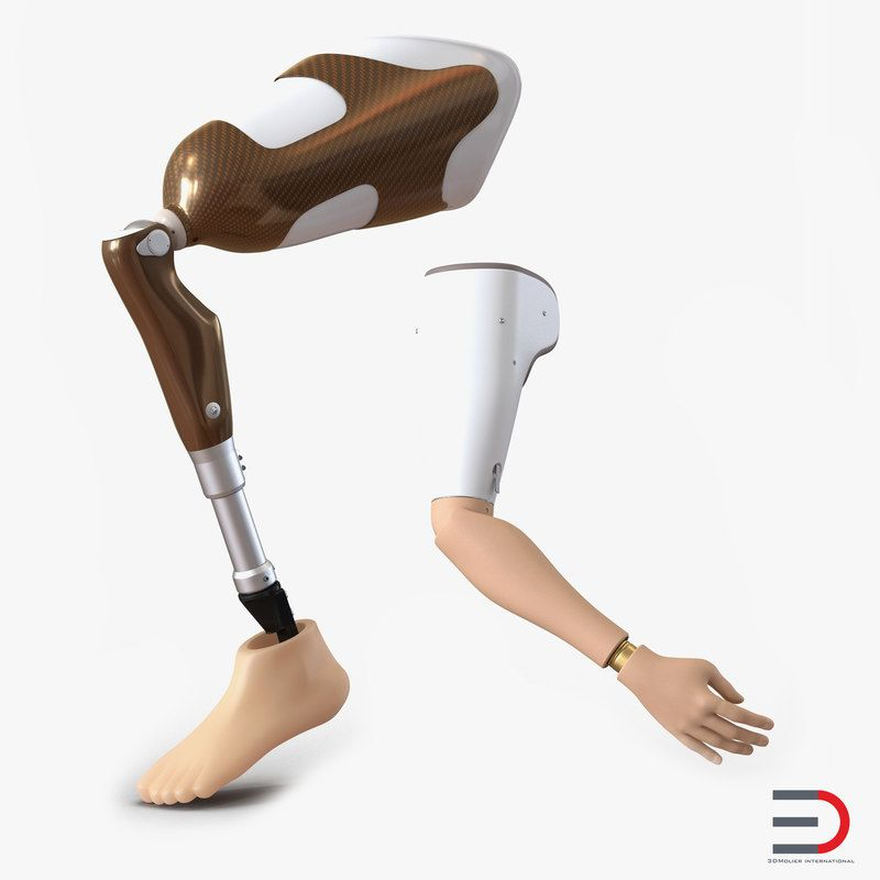 Prosthetic Leg Arm Rigged D Max D Model DModeling - Designer creates see through 3d printed prosthetics made from titanium