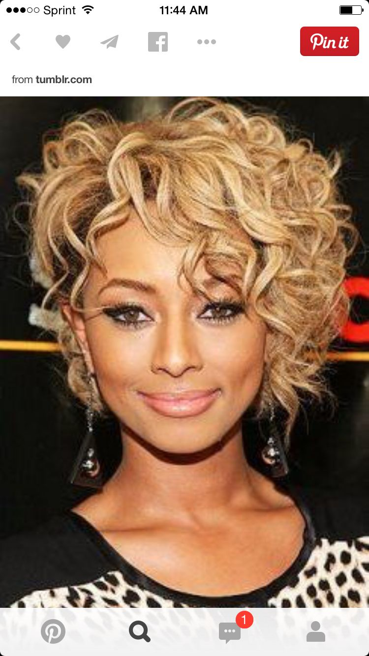 Asymmetrical Curly Bob Short Curly Hair Style Pinterest Curly