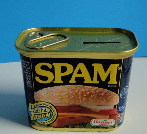 Rare 50th Anniversary Spam Bank!