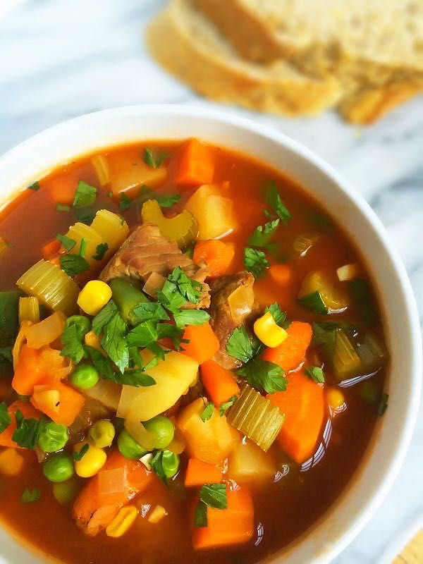 Vegetable Beef Soup | Recipe | Bloggers' Best Healthy ...