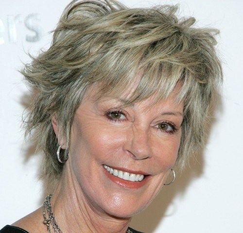 Hairstyles For Older Women With Fine Hair Gorgeous Short Shaggy Hairstyles For Older Women With Fine Hair  New