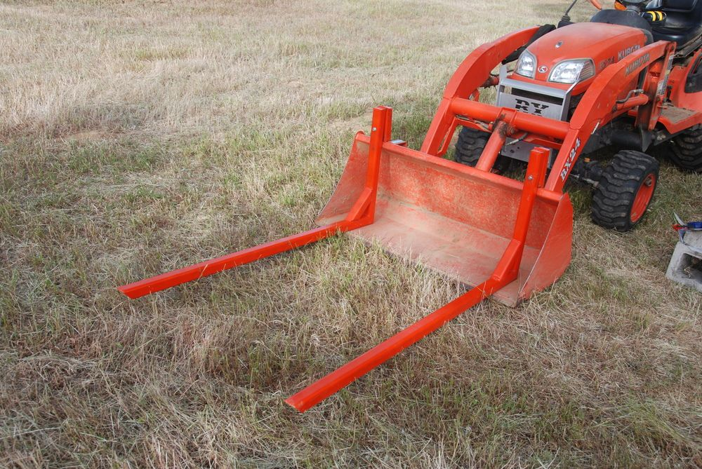 Backhoe Attachments Fork : Image result for tractor bucket attachment forks tools