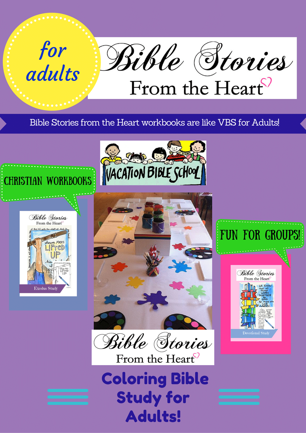 Workbooks christian workbooks for women : Bible Stories from the Heart workbooks are PERFECT for adult small ...