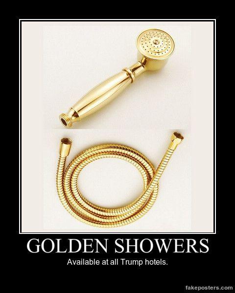 Nude golden shower — 2