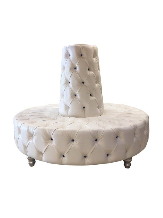 Round Sofa Circular Sofa Tufted Round Banquette Lobby Booth Round