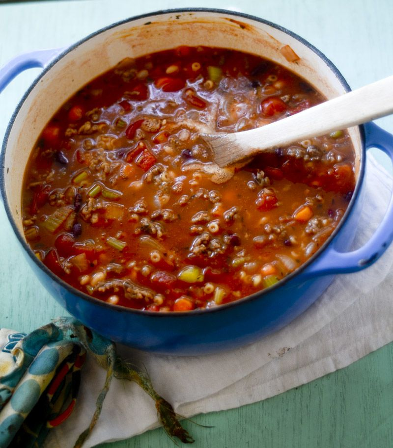 Olive Garden Pasta e Fagioli Recipe Diaries (With images