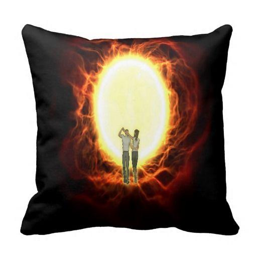 Gorgeous Lovers Throw Pillow