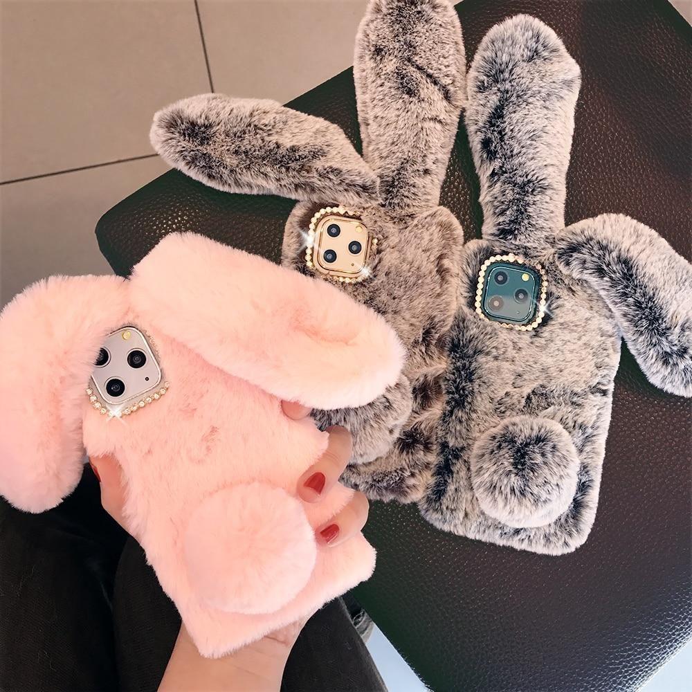 Cute Rabbit Animal iPhone Case - for 6Plus 6s Plus / Pink