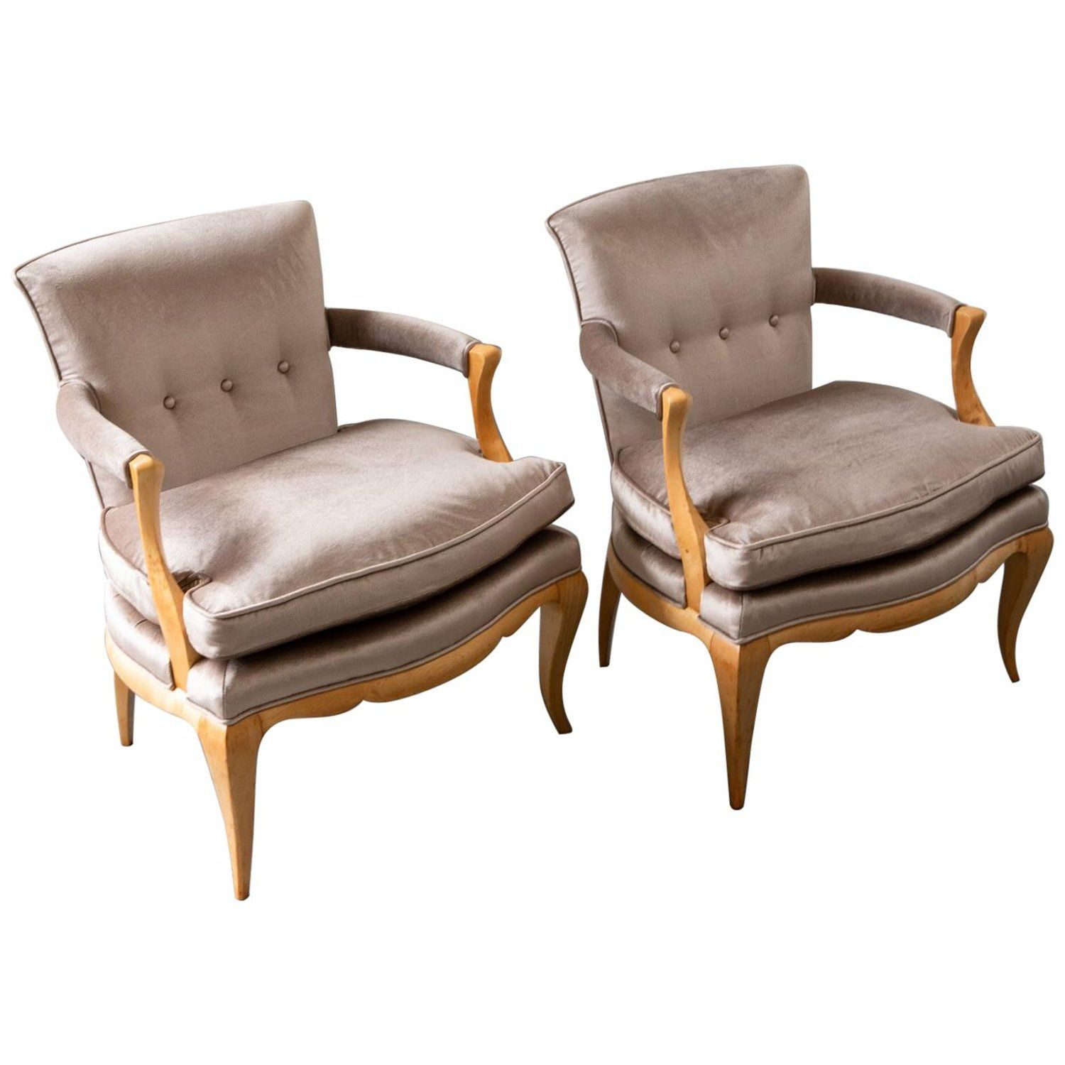 Pair of French Deco Armchairs | Deco chairs, Armchairs for ...