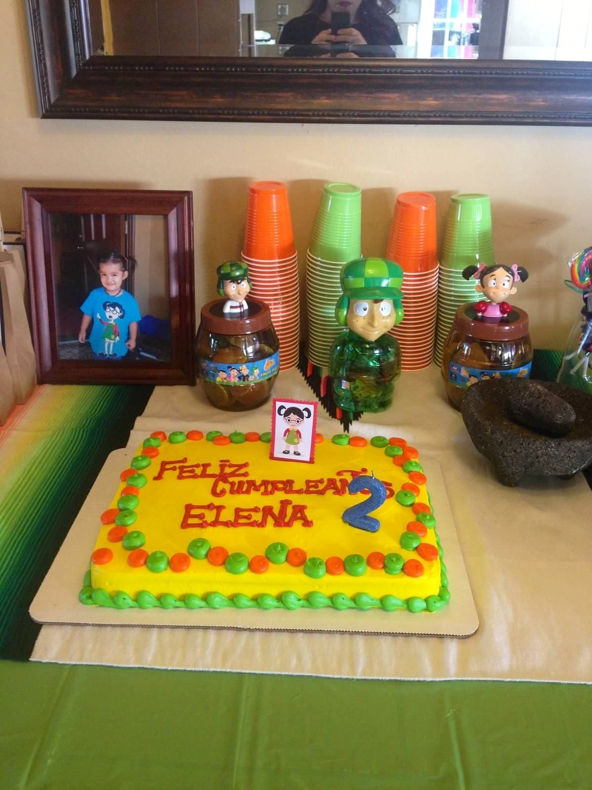 Chavo Del 8 Pastel Party Ideas Cake Party Desserts