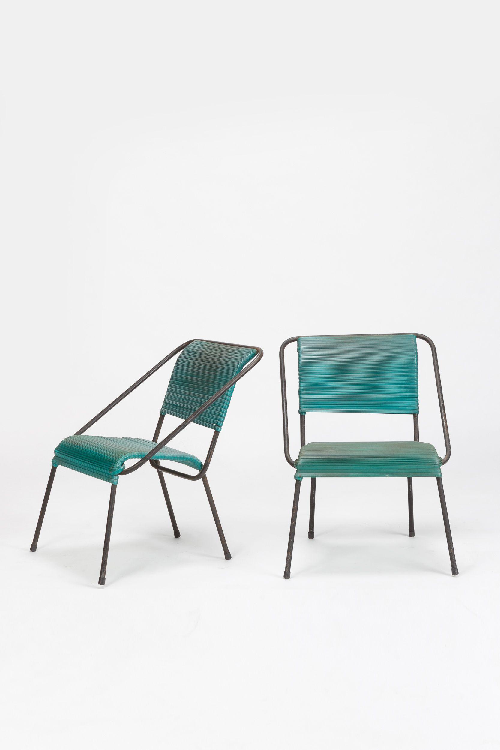 Pair Of Garden Chairs Attr Coen De Vries Furniture Pinterest  # Muebles Lema Rosario