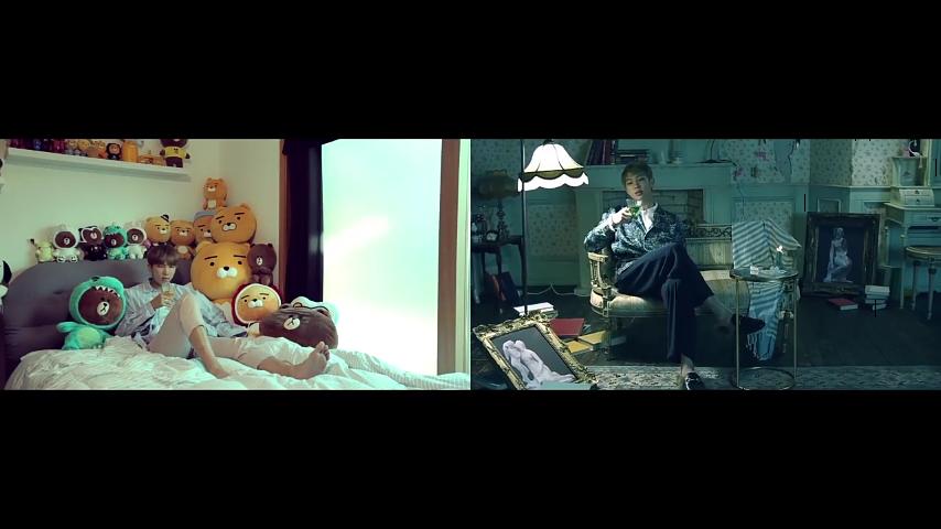 Room R&V ❤ | Blood, Sweat & Tears parody by BTS | (Bae) | Bts, Flat