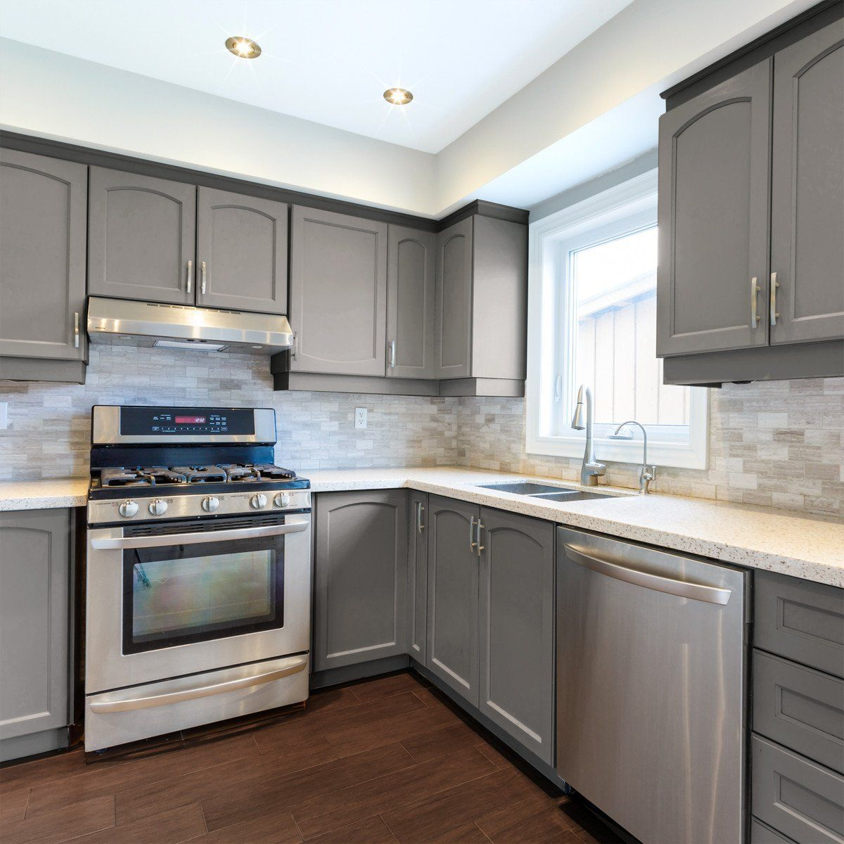 Nuvo Hearthstone Cabinet Paint Kit In 2020 Kitchen Cabinet Remodel Kitchen Layout Interior Design Kitchen