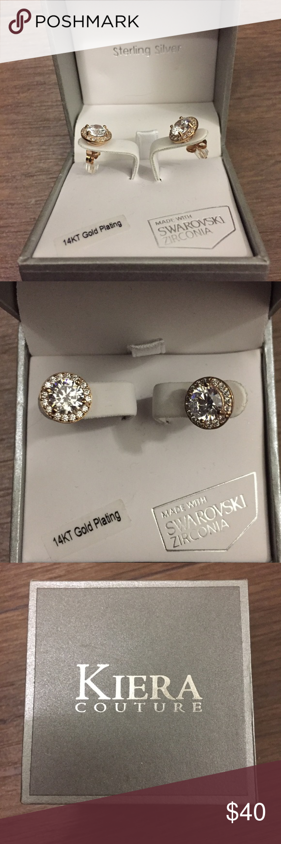 Beauuuutiful Earrings Beautiful Kiera Rose Gold Halo