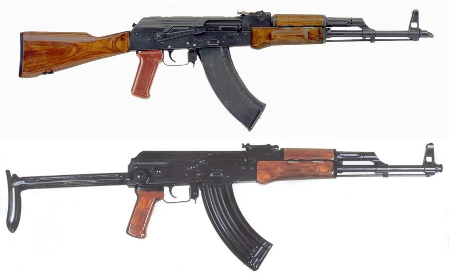 The AKM 47, Successor To The AK-47. Probably One Of The