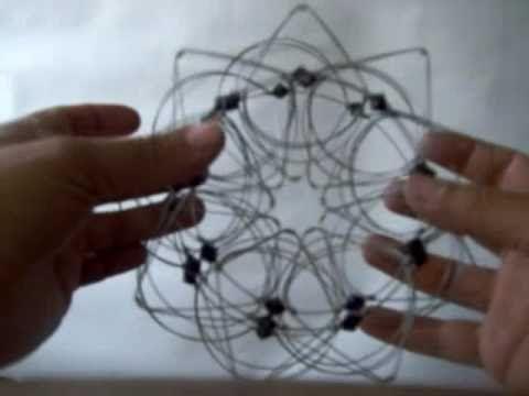 Mandala¡¡ Cómo hacer un mandala de alambre. - YouTube