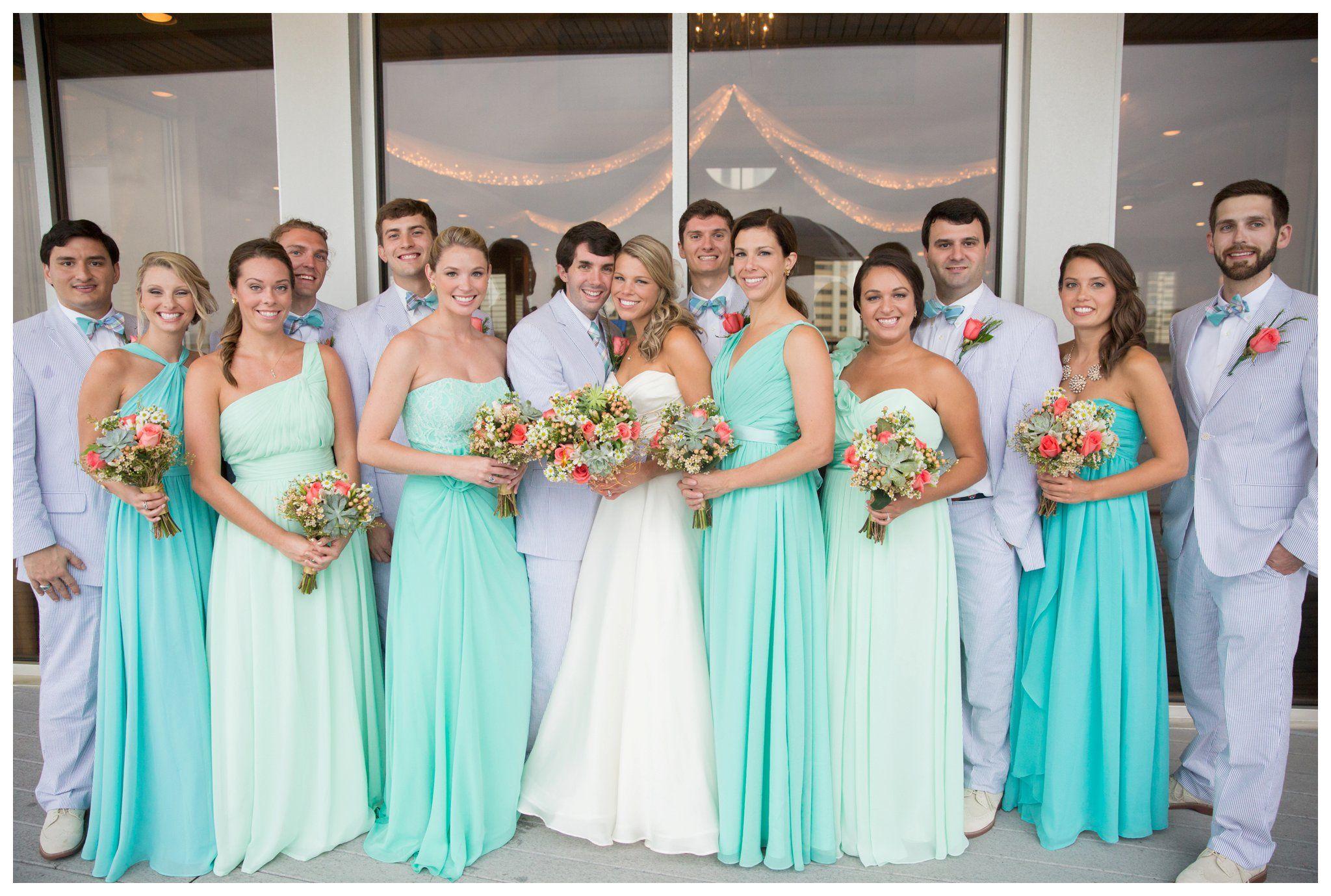 Lesner Inn Seer Er Mint Turquoise Gold And C Wedding 0058