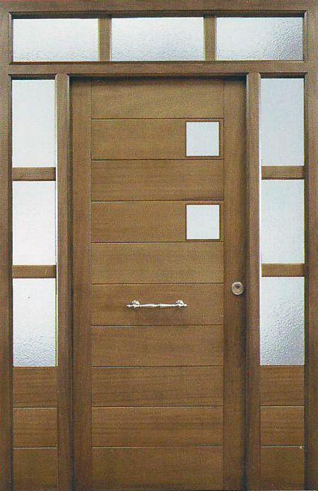 Resultado de imagen para dise o de puertas de madera modernas exteriores puertas pinterest for Disenos de puertas de madera para exterior