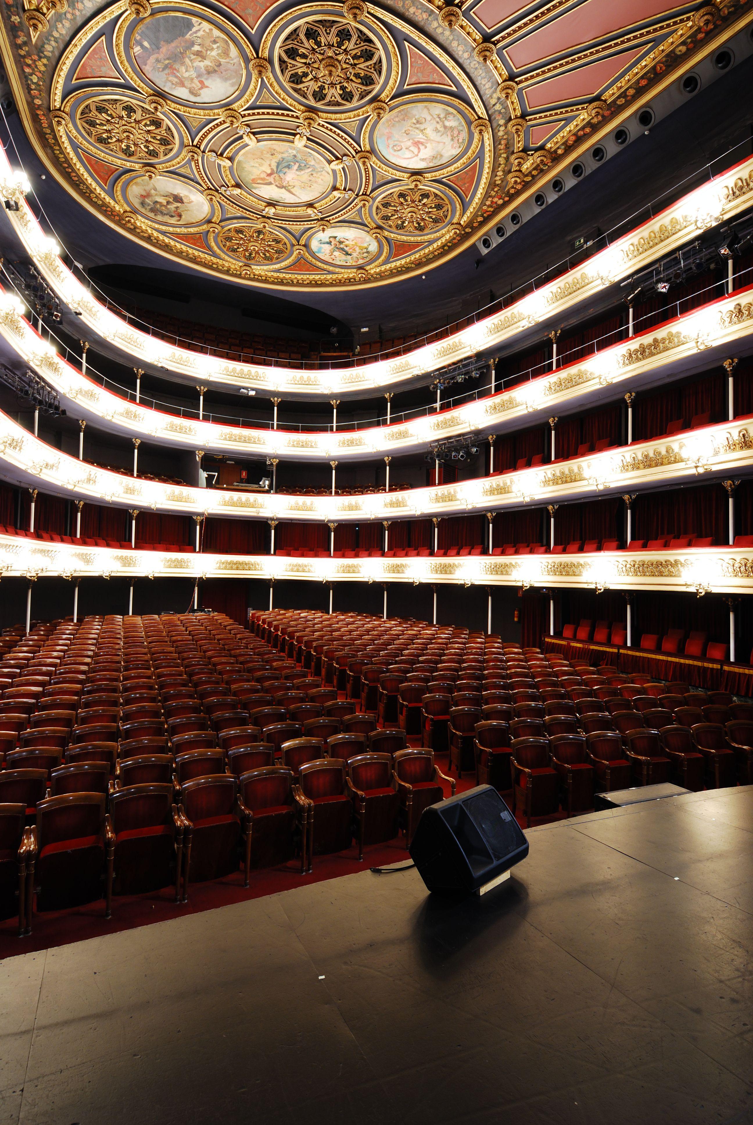Teatro principal zaragoza vah estudio de fotograf a fotograf a de arquitectura opera - Estudio arquitectura zaragoza ...