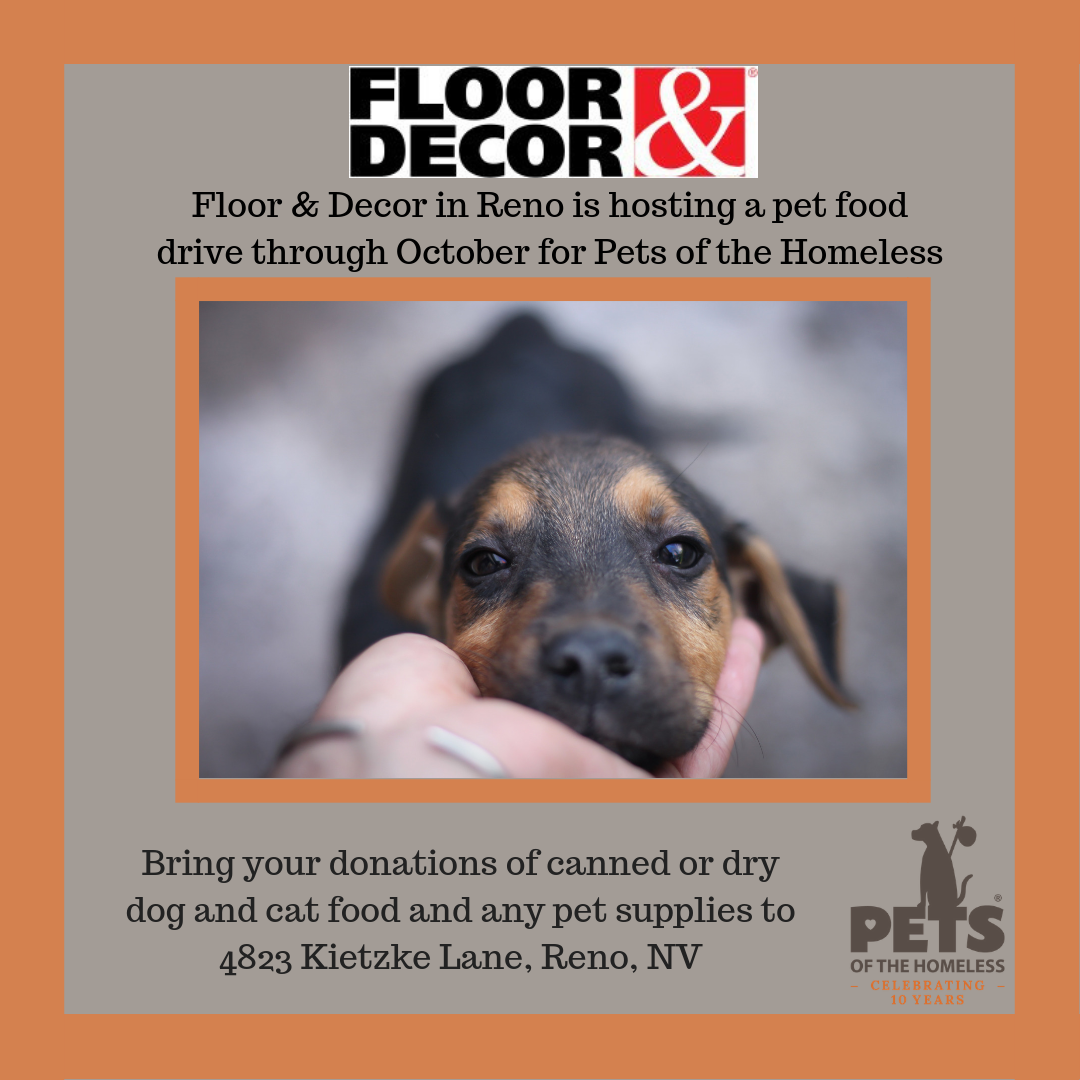 Reno Nv Is Holding A Pet Food Drive
