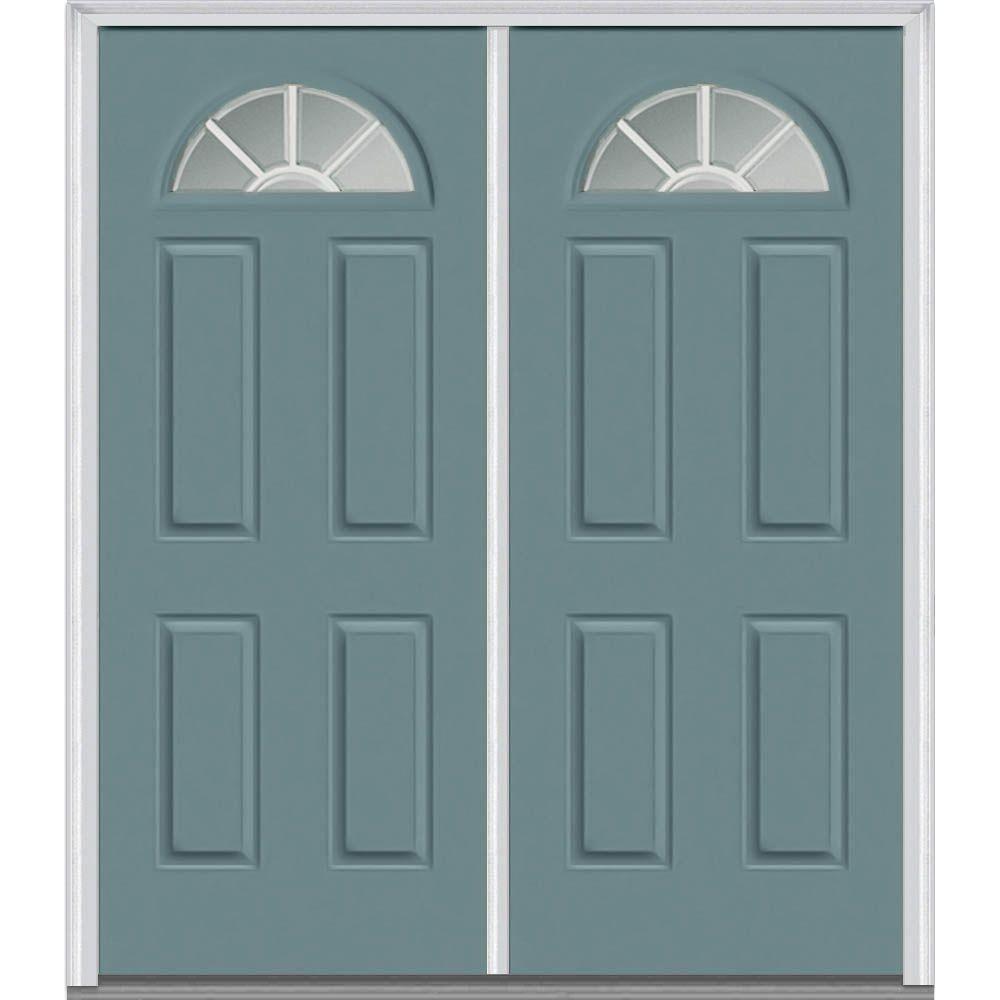 Milliken Millwork 6 Painted Paneling Mmi Door Double Doors Exterior